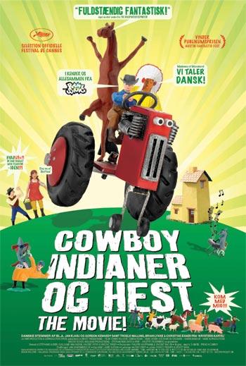 Cowboy Indianer Og Hest