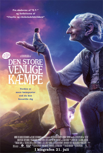 Den store venlige kæmpe 3D - Med dansk tale
