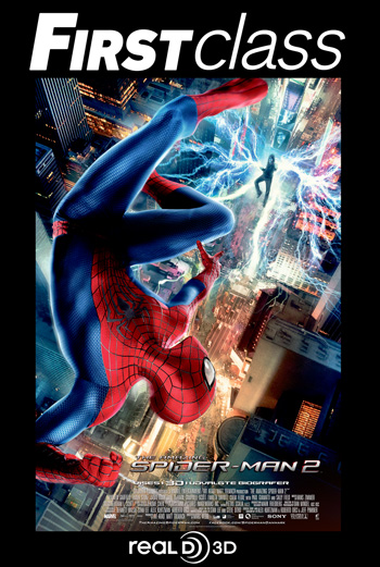 The Amazing Spider-Man 2 3D – First Class