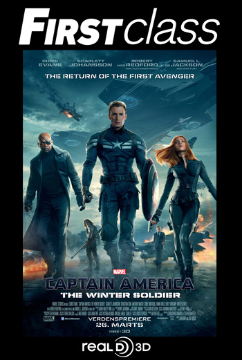 Captain America 2 3D – First Class