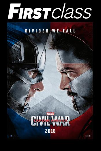 Captain America 3: Civil War 2D FIRST CLASS