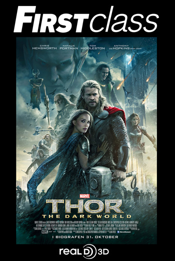 Thor 2: The Dark World 3D – First Class