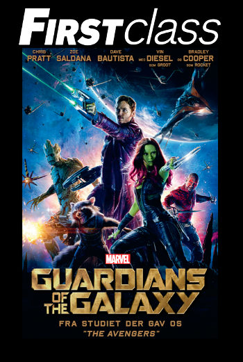 Guardians Of The Galaxy 2D – First Class