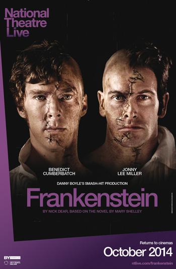 Frankenstein – Cumberbatch As Creature