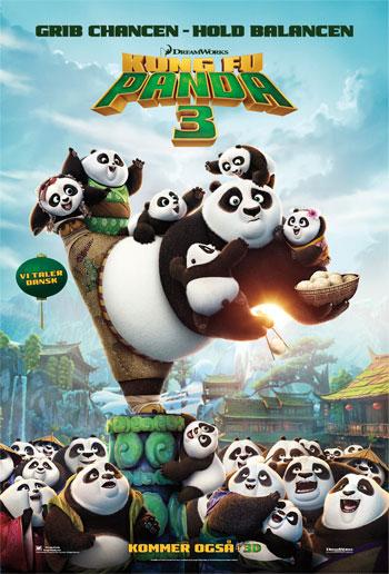 Kung Fu Panda 3 - Med Dansk Tale