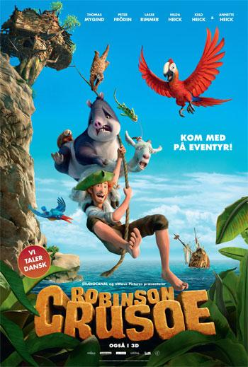 Robinson Crusoe - Med Dansk Tale