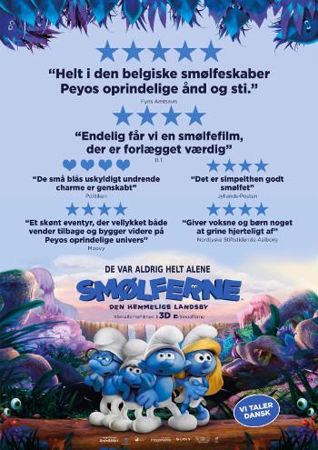 Smølferne - Den hemmelige landsby - Dansk tale