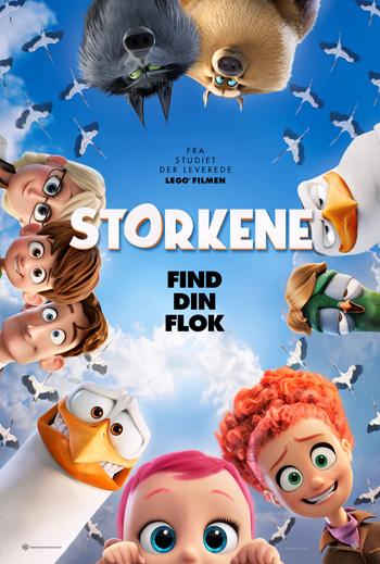 Storkene - Med dansk tale