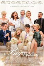 Plakat for filmen The Big Wedding