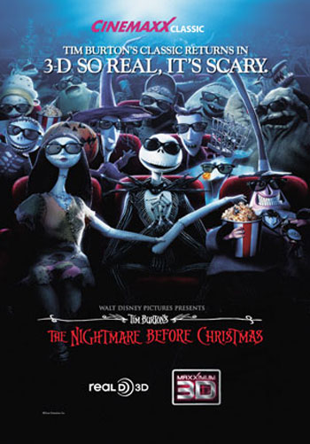 The Nightmare Before Christmas 3D(u. undertekster)