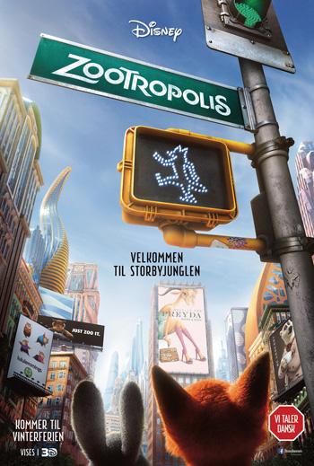 Zootropolis - Med Dansk Tale