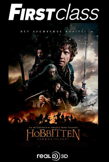 Hobbitten: Femhæreslaget 3D - First Class